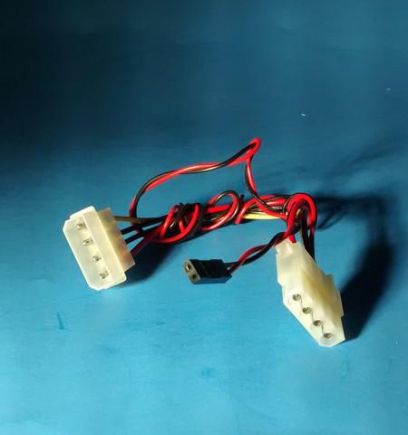 Pc 4Pin Molex zu --> 2Pin PC LED Kabel Adapter? Gibt es so etwas ...