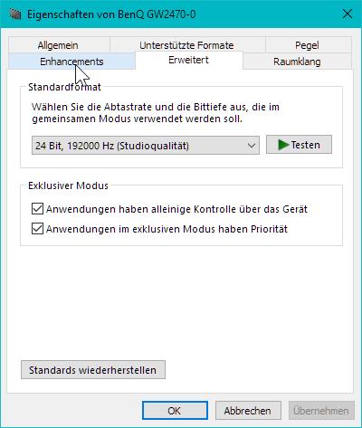 Windows Treiber - (PC, Windows, Sound)