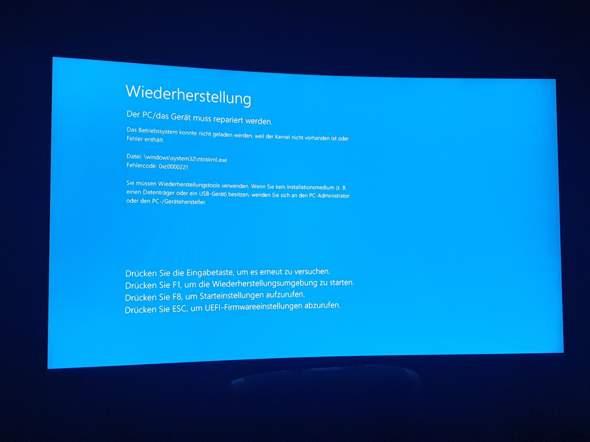 PC Bluescreen?