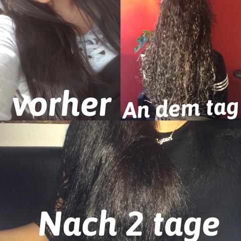 Dauerwelle Oma Mittellange Haare