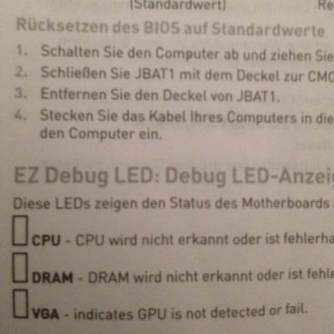 Handbuch des Mainboards - (Computer, PC, Technik)