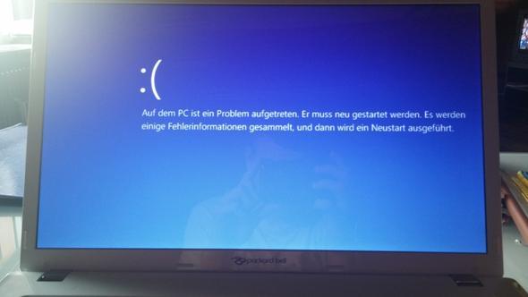 Problemmeldung - (PC, Windows 8)