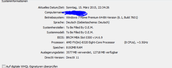 Systeminfo - (PC, System)
