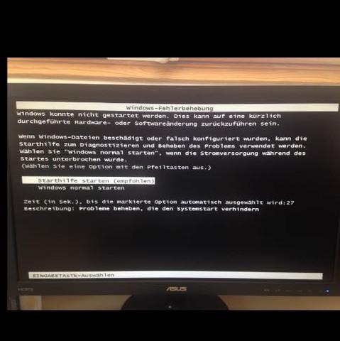 Windows normal oder mit Starthilfe starten - (Computer, PC, Technik)