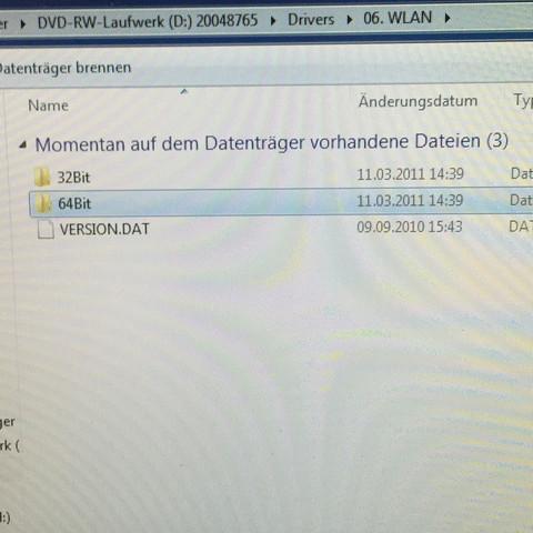 Der W-LAN ordner - (PC, WLAN, Installation)