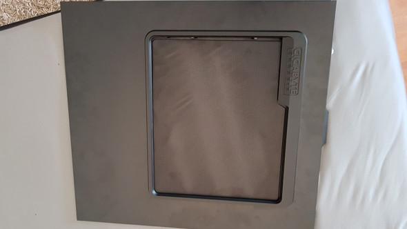 Seitenwand mit metallgitter - (Computer, PC, Lüfter)