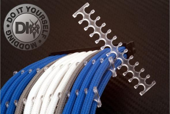 Plastik Kabel Halter - (PC, Kabel, Sleeve)