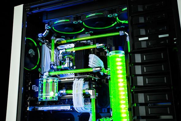 Beispiel - (PC, wasserkühlung, PC bauen)
