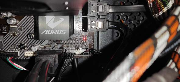 PC startet nichtmehr CPU Led?
