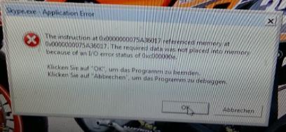 MemoryFehler - (PC, Absturz, Bluescreen)