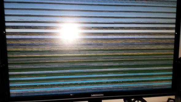 Verzerrter Bildschirm - (Computer, PC, Windows 7)