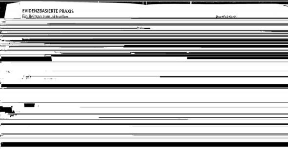 Schwarze Balken - (PDF, schwarze balken, Fehlerhafte Darstellung)