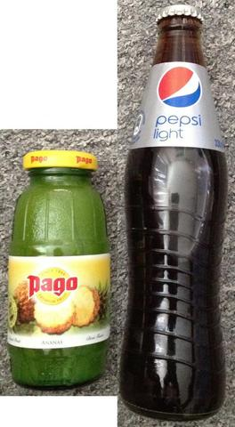 Pago und Pepsi Flasche - (Pfand, Pfandflaschen, Pepsi)