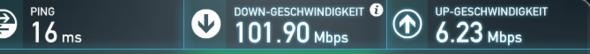 Geschwindigkeit - (Internet, Gaming, Livestream)
