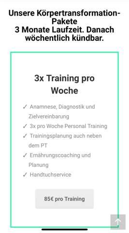 Personal Trainer für 3 Monate ja oder nein was würdet ihr empfehlen?
