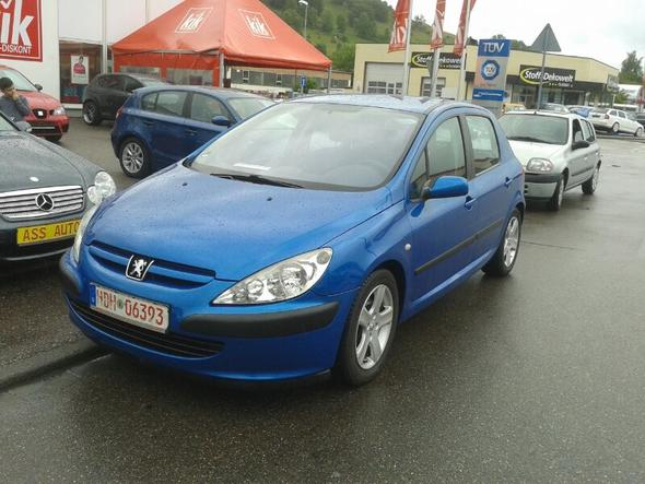 peugeot 307 hdi 2.0 l racehip (auto, tuning)
