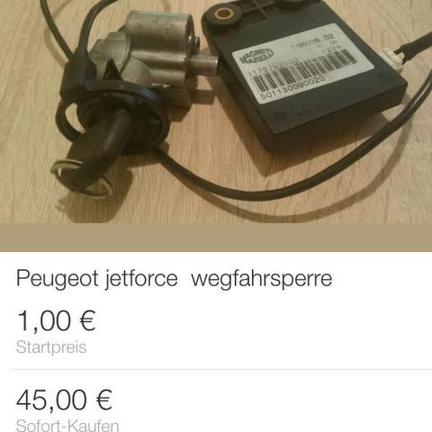 Peugeot jetforce Schlüssel weg - Was kann ich tun?