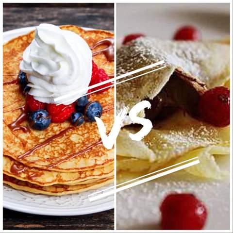 Pfannkuchen oder Crêpes?