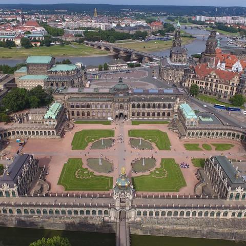 120m Dresden Zwinger  - (Freizeit, Technik, Drohne)