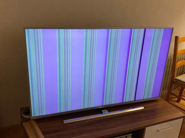 Philips 55PUS7354/12 TV Bild Fehler?