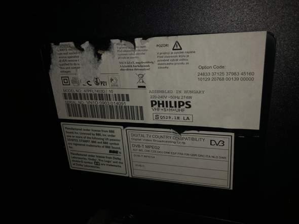 Philips Fernseher geht nach ein paar Sekunden wieder aus?