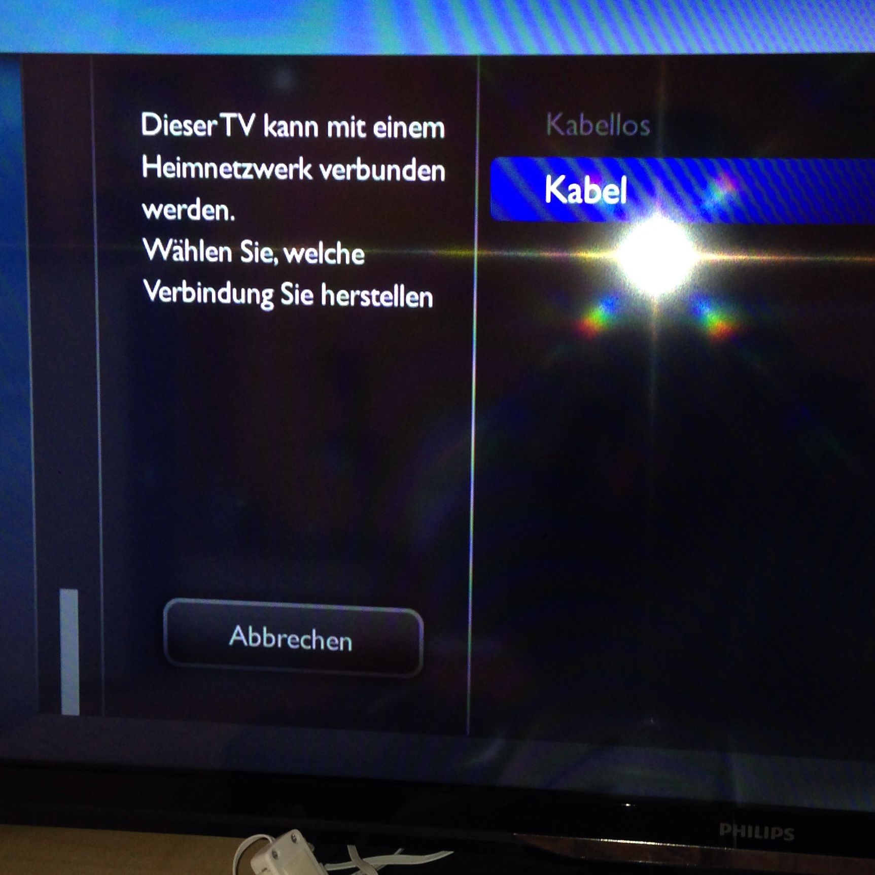 philips tv mit wlan verbinden fernseher smart tv. Black Bedroom Furniture Sets. Home Design Ideas