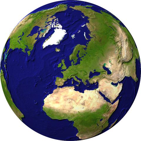 Globus - (Photoshop, Bildbearbeitung, Adobe)
