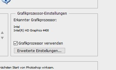 die GK wird zurzeit benutzt - (Grafikkarte, Prozessor, Photoshop)