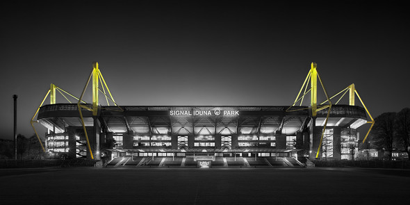 Signal Iduna Park - (Photoshop, Bildbearbeitung)