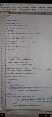 PHP mit MySQL verbinden Fehlersuche?