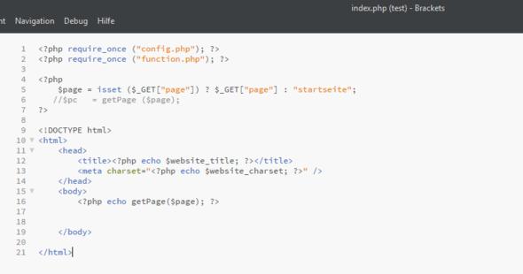 index - (PHP, MySQL)