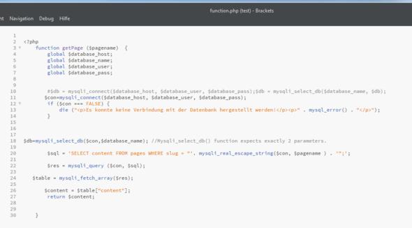 function - (PHP, MySQL)