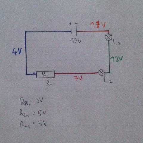 physik e lehre schaltplan richtig stromst rke. Black Bedroom Furniture Sets. Home Design Ideas