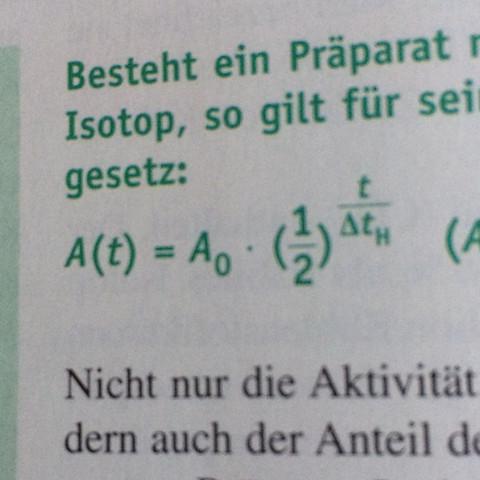 Da ist die Formel  - (Mathematik, Physik, Hausaufgaben)