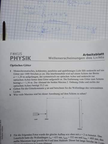 - (Schule, Physik, Optik)