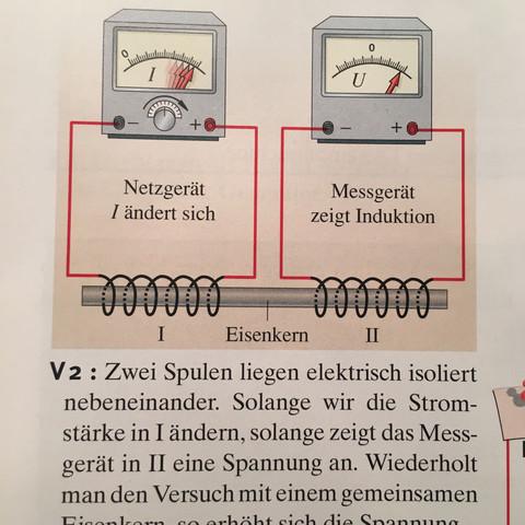 Versuch 2 - (Schule, Physik, Strom)