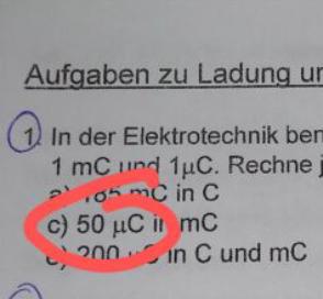 Das rot eingekreiste - (Schule, Physik, Hausaufgaben)