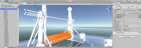 Meine Projektdatei aus Unity - (Physik, Videospiele, Programmierung)