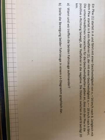 Physik Schnittpunkt?