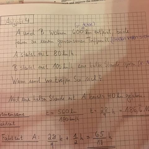 Lösungsweg  - (Schule, Physik, lernen)
