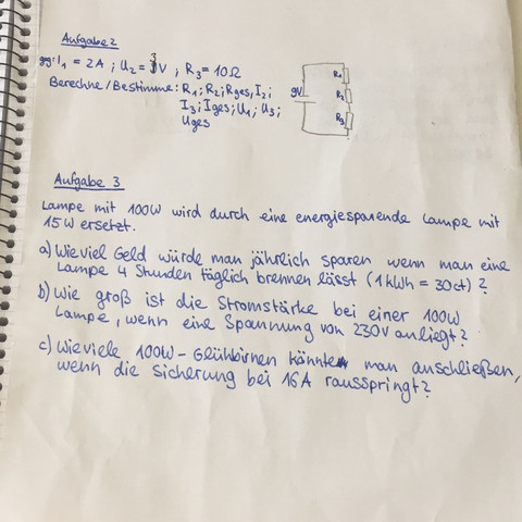 Die Fragen - (Physik, Aufgabe)