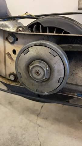 Piaggio Ciao Moped Kupplung ausbauen?