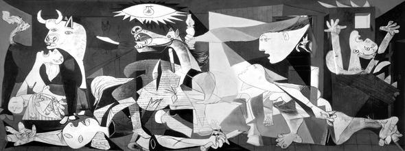 Moderne - Picasso Guernica