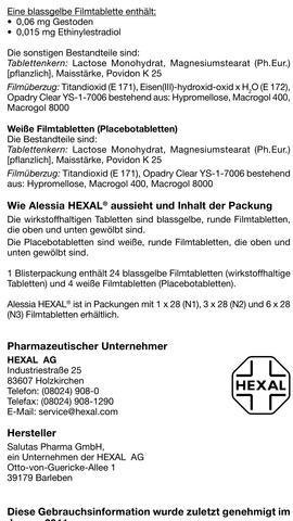 alessia - (Sex, Pille, Schutz)