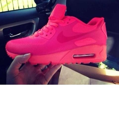 Pinke Nike air Max wo (Schuhe, pink)