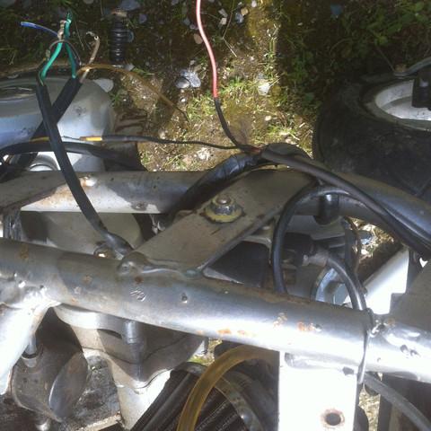 Pitbike 50ccm 4 gang halbautomatik verdrahtung? (Motorrad, Motor ...