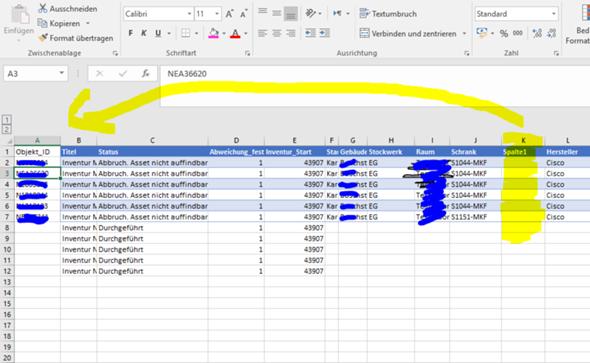 Pivot-Tabelle Formatierung löschen aber die Daten in der Tabelle beibehalten?