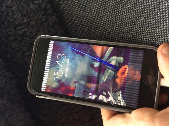 iPhone - (iPhone, Umbau, Pixelfehler)