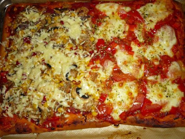 Kühlschrank Pizza Aldi : Pizza vom vorabend heute noch gut? im ofen mit fisch haushalt
