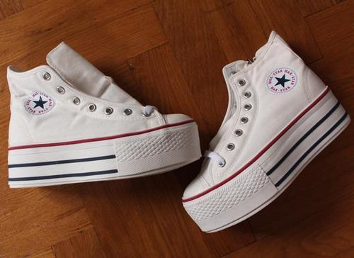 Gratisversand Outlet Store Verkauf verkauf usa online Plateau Chucks (Mode, Schuhe, Sneaker)